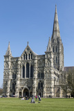 Cathedral, Salisbury, Wiltshire, England, United Kingdom Photographic Print by Rolf Richardson
