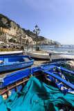 Fishing Boats on Shore, Amalfi Waterfront, Costiera Amalfitana (Amalfi Coast), Campania, Italy Photographic Print by Eleanor Scriven