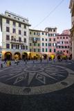 Piazza Caprera, Santa Margherita Ligure, Genova, Liguria, Italy, Europe Photographic Print by Carlo Morucchio