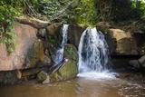 Manchewe Falls Near Livingstonia, Malawi, Africa Fotografisk tryk af Michael Runkel
