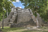 Structure 6, Kohunlich, Mayan Archaeological Site, Quintana Roo, Mexico, North America Photographic Print by Richard Maschmeyer