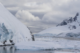 Ice Floes Choke the Waters of the Lemaire Channel, Antarctica, Polar Regions Photographic Print by Michael Nolan