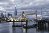 The River Thames, Tower Bridge, City Hall Photographic Print by Alex Robinson