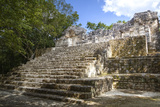 Structure 3, Early Classic Period, Calakmul Mayan Archaeological Site Photographic Print by Richard Maschmeyer