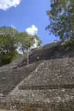 Structure 1, Calakmul Mayan Archaeological Site, Campeche, Mexico, North America Photographic Print by Richard Maschmeyer