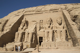 Tourists Enjoying the Site, Colossi of Ramses Ii, Sun Temple Photographic Print by Richard Maschmeyer