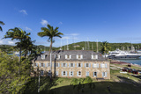 View of Fort James, the Main Historic Building of Antigua Photographic Print by Roberto Moiola