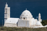 Agia Irini Church, Gialos, Ios, Cyclades, Greek Islands, Greece Photographic Print by Rolf Richardson