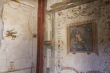 Frescoes, Casa Dell'Ara Massima, Roman Ruins of Pompeii, Campania, Italy Photographic Print by Eleanor Scriven