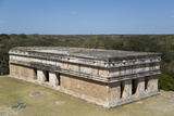 House of Turtles, Uxmal Mayan Archaeological Site, Yucatan, Mexico, North America Photographic Print by Richard Maschmeyer