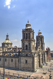 Metropolitan Cathedral, Mexico City, Mexico D.F., Mexico, North America Photographic Print by Richard Maschmeyer