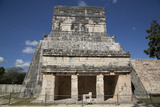 Temple of the Jaguars and Shields, Chichen Itza, Yucatan, Mexico, North America Photographic Print by Richard Maschmeyer