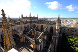 Seville Cathedral Seen from Giralda Bell Tower, Seville, Andalucia, Spain Photographic Print by Carlo Morucchio