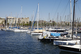 Barcelona Marina, Barcelona, Catalonia, Spain Photographic Print by Mark Mawson