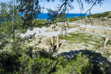 Ruins of Ancient Kameiros, Kalavarda, Rhodes, Dodecanese Islands, Greek Islands, Greece Photographic Print by Michael Runkel