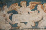 Close-Up of 16th Century Frescoes Photographic Print by Richard Maschmeyer