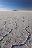 Volcano Tunupa on the Horizon of the Salar De Uyuni Photographic Print by Roberto Moiola
