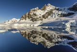 Reflections in the Calm Waters of the Lemaire Channel, Antarctica, Polar Regions Photographic Print by Michael Nolan