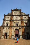 Basilica of Bom Jesus, UNESCO World Heritage Site, Old Goa, Goa, India, Asia Photographic Print by Yadid Levy