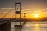 Old (First) Severn Bridge, Avon, England, United Kingdom Photographic Print by Billy Stock
