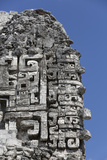 Chac Masks, Structure Xx, Chicanna Photographic Print by Richard Maschmeyer