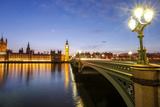View of Big Ben and Palace of Westminster Photographic Print by Roberto Moiola