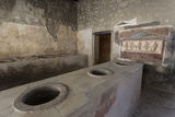 Thermopolium of Vetutius Placidus, Roman Ruins of Pompeii, Campania, Italy Photographic Print by Eleanor Scriven