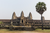 East Entrance to Angkor Wat, Angkor, UNESCO World Heritage Site, Siem Reap, Cambodia, Indochina Photographic Print by Michael Nolan