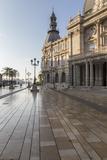 Town Hall Square on an Autumn Early Morning, Cartagena, Murcia Region, Spain, Europe Photographic Print by Eleanor Scriven