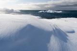 Icebergs Along the Coastline of Ilulissat, Greenland, Denmark, Polar Regions Photographic Print by Sergio Pitamitz