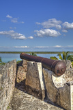 Old Cannon, Ramparts of San Felipe Fort, Built in 1733 Photographic Print by Richard Maschmeyer