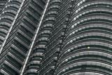 Petronas Twin Towers, Close-Up, Kuala Lumpur, Malaysia, Southeast Asia Photographic Print by Nick Servian