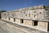 Nuns Quadrangle, Uxmal, Mayan Archaeological Site, Yucatan, Mexico, North America Photographic Print by Richard Maschmeyer