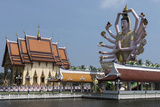 Choeng Mon Temple, Koh Samui, Thailand, Southeast Asia, Asia Photographic Print by Rolf Richardson