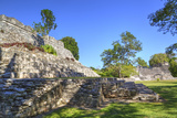 Temple of the King, Kohunlich, Mayan Archaeological Site, Quintana Roo, Mexico, North America Photographic Print by Richard Maschmeyer