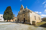 Historical Arkadi Monastery, Crete, Greek Islands, Greece Photographic Print by Michael Runkel
