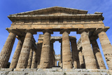 Temple of Neptune, 450 Bc, Largest and Best Preserved Greek Temple at Paestum, Campania, Italy Photographic Print by Eleanor Scriven