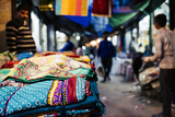 Shastri Textiles Market at Night, Amritsar, Punjab, India Photographic Print by Ben Pipe
