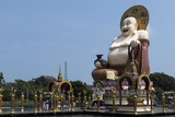 Buddha, Choeng Mon Temple, Koh Samui, Thailand, Southeast Asia, Asia Photographic Print by Rolf Richardson
