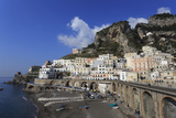 Atrani Beach Front, Near Amalfi, Costiera Amalfitana (Amalfi Coast), Campania, Italy Photographic Print by Eleanor Scriven