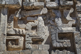 Stone Carvings, Structure Ii, Hochob Photographic Print by Richard Maschmeyer