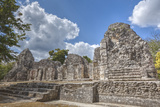 Structure I, Chicanna, Mayan Archaeological Site Photographic Print by Richard Maschmeyer
