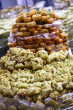 Baklava, an Arab Sweet Pastry at a Shop in the Old City, Jerusalem, Israel, Middle East Photographic Print by Yadid Levy