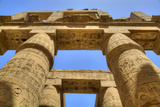Columns in the Great Hypostyle Hall, Karnak Temple, Luxor, Thebes, Egypt, North Africa, Africa Photographic Print by Richard Maschmeyer