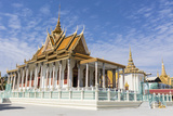 The Silver Pagoda (Wat Preah Keo) in the Capital City of Phnom Penh, Cambodia, Indochina Photographic Print by Michael Nolan