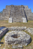 Structure Q-62, Mayapan, Mayan Archaeological Site, Yucatan, Mexico, North America Photographic Print by Richard Maschmeyer