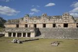 Nuns Quadrangle, Uxmal, Mayan Archaeological Site, Yucatan, Mexico, North America Photographic Print by Richard Maschmeyer