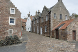 A Street in Crail with Lobster Pots, Fife Coast, Scotland, United Kingdom Photographic Print by Nick Servian