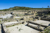 Ruins of Ancient Kameiros, Kalavarda, Rhodes, Dodecanese Islands, Greek Islands, Greece Photographic Print by Michael Runkel