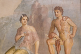 Roman Fresco, Io and Argos, from House of Meleager Photographic Print by Eleanor Scriven